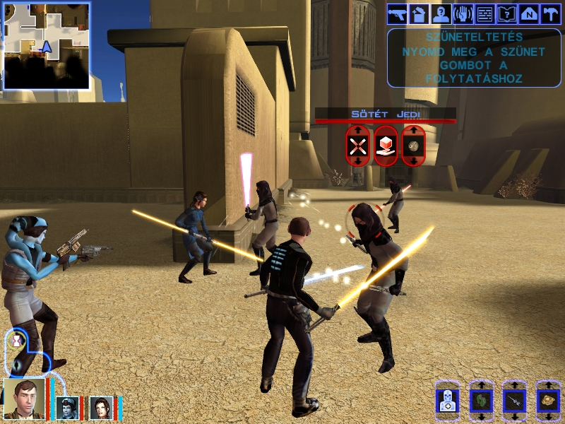 dark_jedi team attack in Tatooine