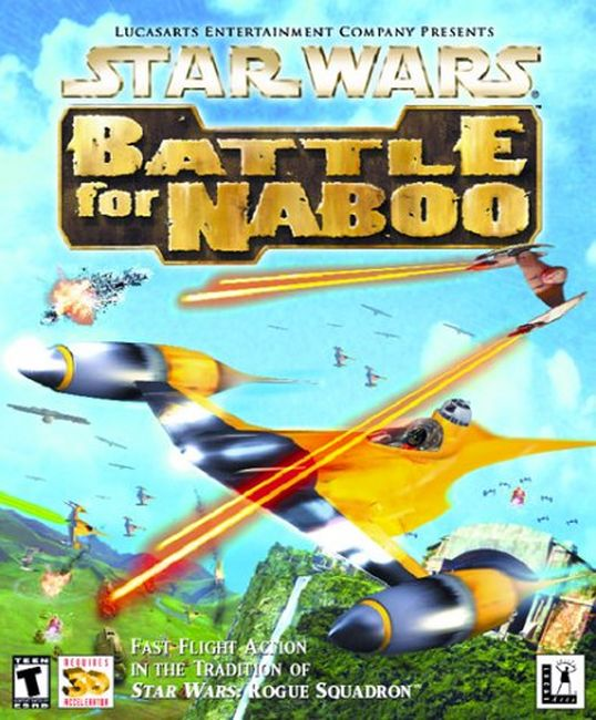 battle for naboo borító